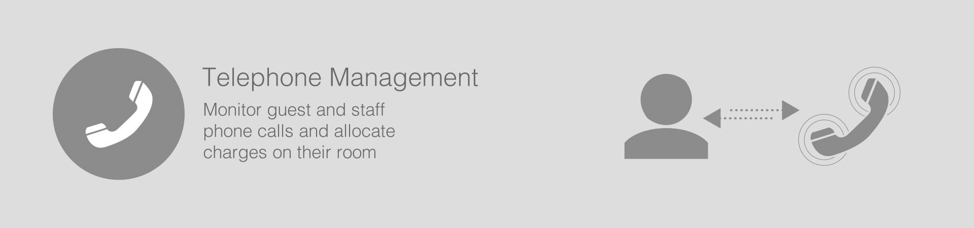 Telephone Management header